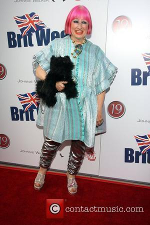 Zandra Rhodes Champagne Launch of BritWeek 2008, held at the British Consul General's Residence - Arrivals Los Angeles, California -...