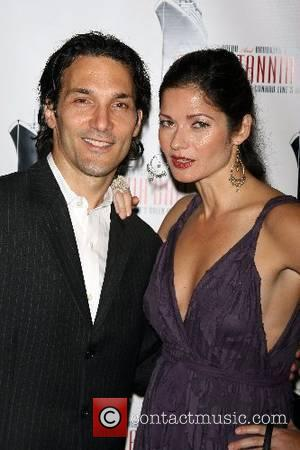 Paolo Mastropietro and Jill Hennessy The Brittania Ball honouring the New York City Opera held at the Brooklyn Cruise Terminal...
