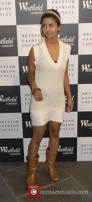 Konnie Huq Westfield London and the British Fashion Council celebrate the support of fashion forward - Arrivals London, England -...