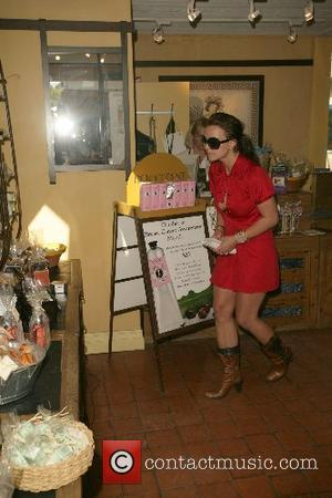 Britney Spears put all her troubles behind her on Wednesday (10Oct07) when she went shopping for beauty products in Malibu,...