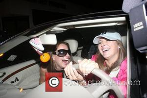 Britney Spears Arriving at a Halloween party in Hollywood. An insider at the party commented that Britney went up to...