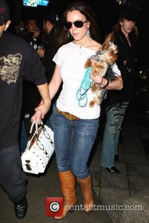 Britney Spears and Hustler