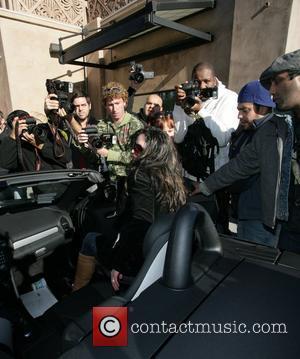 Britney Spears, Mercedes and SLK