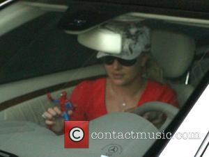 Britney Spears, Sean Preston and Spiderman