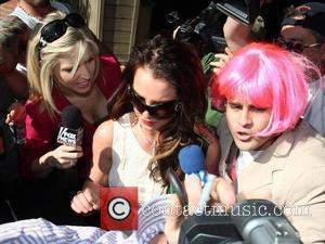 Britney Spears, Kevin Federline and Sean Preston