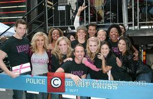 Andy Karl, Orfeh and the cast of Legally Blonde
