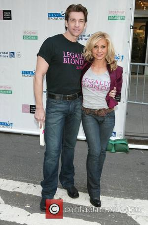 Andy Karl and Orfeh