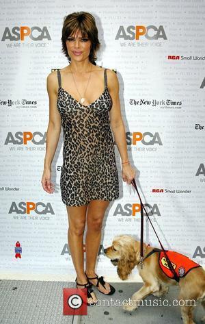 Lisa Rinna Broadway Barks 9 benefit event in Shubert Alley New York City, USA - 14.07.07
