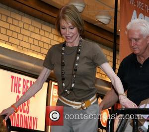 Mary Tyler Moore 9th Annual Broadway Barks at Shubert Alley, a star-studded dog and cat adopt-a-thon benefiting New York City...
