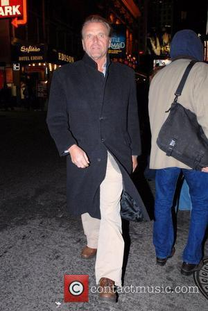 David Rasche leaving the 'Richard Rodgers Theatre' after a performance of Cyrano de Bergerac New York City, USA - 05.01.08