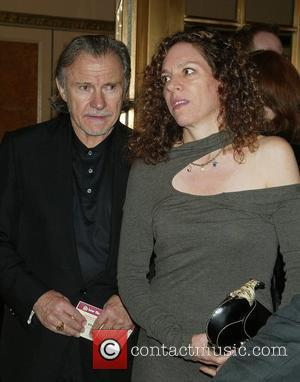 Harvey Keitel & Daphne Kastner Keitel Opening night of 'A Bronx Tale' at Walter Kerr Theatre - Arrivals New York...