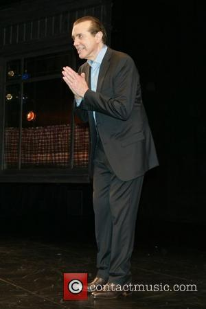 Chazz Palminteri Opening night of 'A Bronx Tale' at Walter Kerr Theatre - Curtain Call New York City, USA -...
