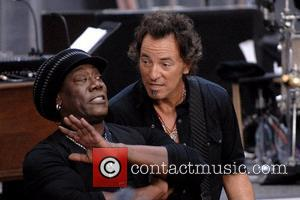 Clarence Clemons and Bruce Springsteen Bruce Springsteen and the E Street Band performing on NBC's 'The Today Show 2007 Toyota...