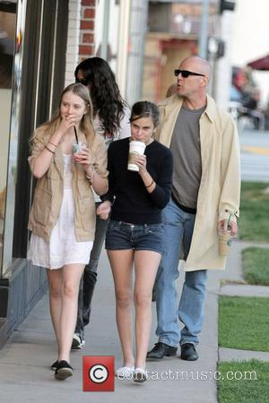 Bruce Willis and Stella Mccartney