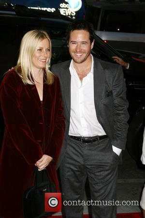 Rob Morrow and wife Debbon Ayer The Bucket List Premiere - Arrivals held at ArcLight Theater Hollywood, California USA -...