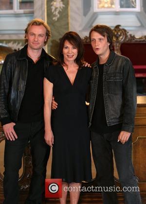 Mark Waschke, August Diehl and Iris Berben