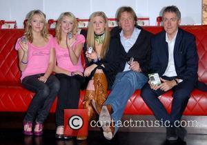 Samantha Marchant, Amanda Marchant, Sophie Blackman, Tim Blackman and Griff Rhys Jones