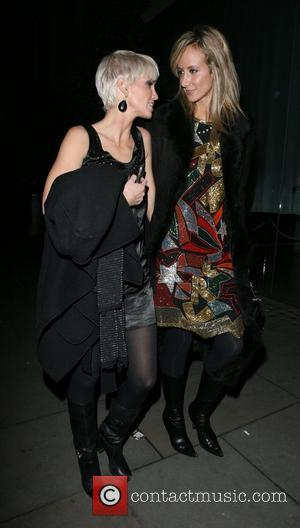 Sarah Harding and Lady Victoria Hervey
