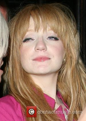Nicola Roberts leaves the 21st birthday party Amy Walsh, sister of Girls Aloud bandmate Kimberley Walsh, held at the Burlington...