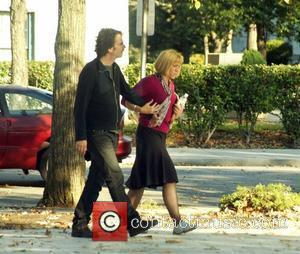Director, Joel Coen, his wife and Frances McDormand