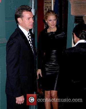 Ali Larter and Calvin Klein