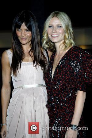 Helena Christensen and Gwyneth Paltrow