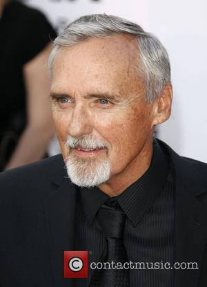 Dennis Hopper amfAR's annual Cinema Against AIDS gala at The 2008 Cannes Film Festival held at at Le Moulin de...
