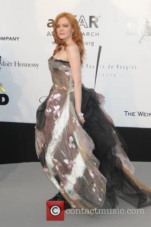 Rose McGowan amfAR's annual Cinema Against AIDS gala at The 2008 Cannes Film Festival held at at Le Moulin de...