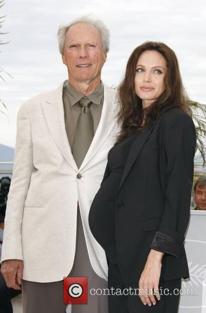 Clint Eastwood and Angelina Jolie The 2008 Cannes Film Festival - Day 7 - L'Echange (Changeling) - photocall Cannes, France...
