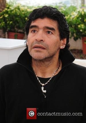 Maradona Makes Chat Show Debut