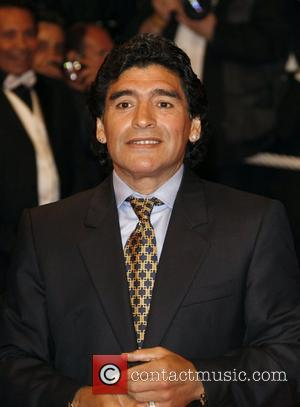 Maradona Hospitalised For Overindulgence