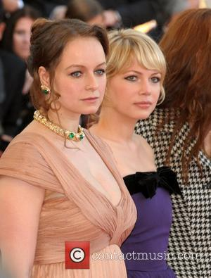 Samantha Morton and Michelle Williams The 2008 Cannes Film Festival - Day 10 - 'Synedoche, New York' - Premiere Cannes,...
