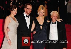 Vinessa Shaw, James Gray, Gwyneth Paltrow and Moshonov Moni The 2008 Cannes Film Festival - Day 6 'Two Lovers' -...
