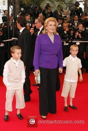 Catherine Deneuve and guests The 2008 Cannes Film Festival - Day 3 - Un Conte De Noel - Premiere Cannes,...