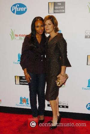 Kerry Washington and Marcia Gay Harden