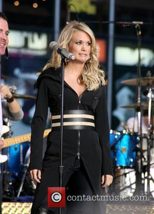 Carrie Underwood performs on 'Good Morning America's' fall concert series at ABC studios in Times Square New York City, USA...