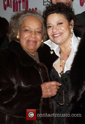 Debbie Allen and Her Mother At The Arrivals For The Opening Night Performance Of Cat On A Hot Tin Roof At The Broadhurst Theatre.