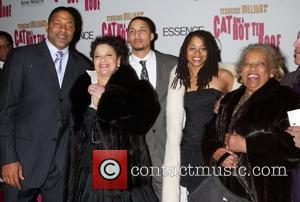 Debbie Allen and Family At The Arrivals For The Opening Night Performance Of Cat On A Hot Tin Roof At The Broadhurst Theatre.