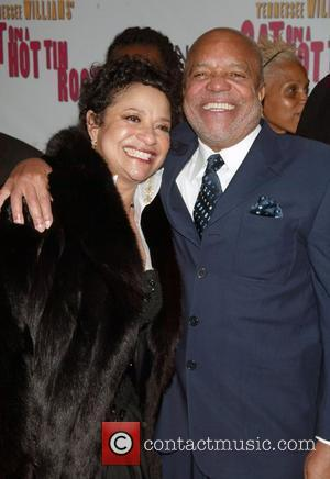 Debbie Allen and Berry Gordy