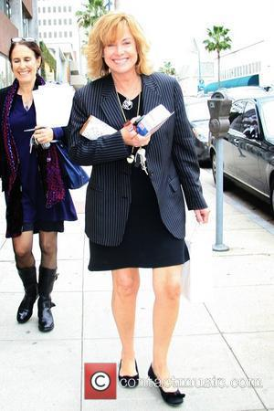 7th Heaven actress Catherine Hicks is all smiles while out and about in Santa Monica Los Angeles, California - 21.02.08