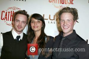 Aaron Paul and Tamara Feldman