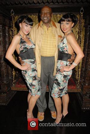 Louis Gossett Jr and Cheeky Girls at the 'Caudwell Children Legends Ball' afterparty held at Gilgamesh Restaurant Bar & Lounge...