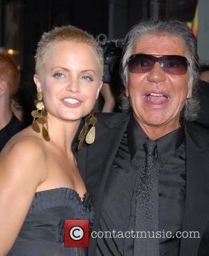 Mena Suvari and Roberto Cavalli