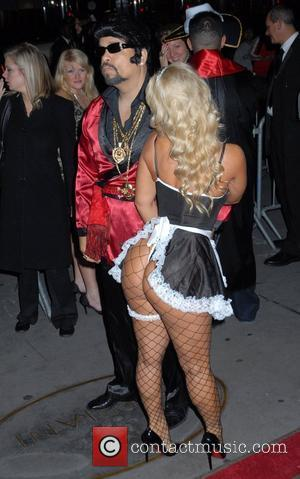 Ice T and Coco Roberto Cavalli Vodka and Giuseppe Cipriani host a Halloween party at Cipriani 42nd Street New York...