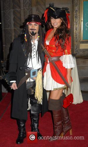 Jeff Gordon and Guest Roberto Cavalli Vodka and Giuseppe Cipriani host a Halloween party at Cipriani 42nd Street New York...