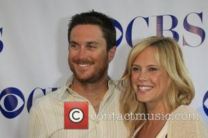 Oliver Hudson and his wife Erinn Bartlett CBS summer press tour 'Stars Party 2007' at the Wandsworth Theatre Westwood, California...