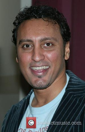 Aasif Mandvi 5th Annual Labyrinth Theater Celebrity Charades held at St. Paul's Hall - Arrivals New York City, USA -...