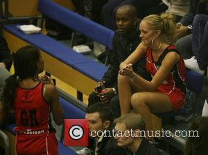 Charley Uchea and Aisleyne Horgan-Wallace Celebrity Netball Sevens, held at Sport and Performing Arts Centre, Hackney Community College London, England...