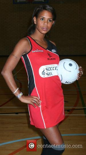 Charley Uchea Celebrity Netball Sevens, held at Sport and Performing Arts Centre, Hackney Community College London, England - 18.11.07