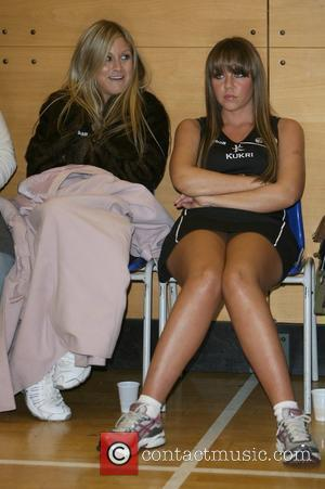 Nikki Grahame and Michelle Heaton